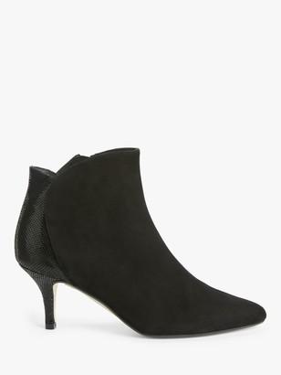 John Lewis & Partners Winter Suede Shoe Boots, Black