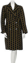 Dries Van Noten Patterned Alpaca-Blend Coat