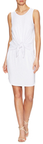 Susana Monaco Tie Front Sheath Dress