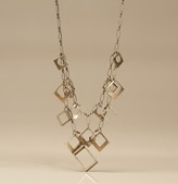 Martin + Osa Art Deco Charms Double Chain Necklace