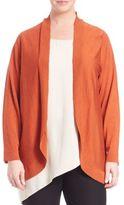 Eileen Fisher Oval Merino Wool Cardigan