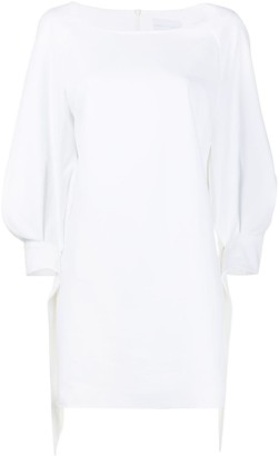Noon By Noor Hove scoop neck shift dress