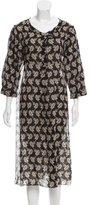 Sonia Rykiel Floral Print Midi Dress