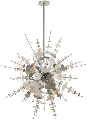 Livex Lighting Livex Circulo 12 Light Polished Chrome Grand Foyer Pendant Chandelier