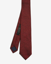 Ted Baker Textured Silk Tie Red
