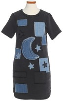 Stella McCartney Toddler Girl's Maude Denim Shift Dress