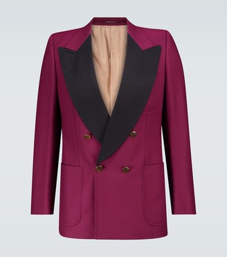 Gucci Exclusive to Mytheresa - double-breasted tuxedo blazer
