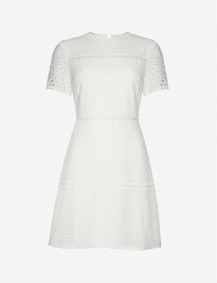Ted Baker A-line lace mini dress