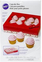 Wilton Treat Box with Heart Window, Multi-Colour, 30.4 x 22.8 x 7.6 cm