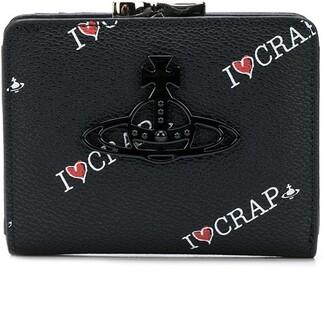 Vivienne Westwood Kelly logo wallet