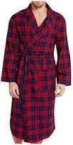 FGL Mens Check Woven Robe