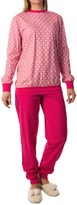 Calida Freesia Pajamas - Cotton Jersey, Long Sleeve (For Women)