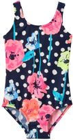 Osh Kosh Baby Girl Floral & Dot One-Piece Swimsuit