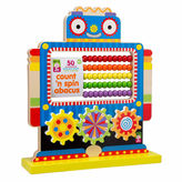 Alex Jr Count N Spin Abacus Robot Interactive Toy