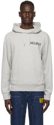 Helmut Lang Grey Glowcore Standard Hoodie