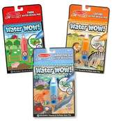 Melissa & Doug Water Wow! - Water Reveal Pad Bundle - Farm, Safari & Under The Sea