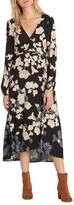 Billabong Women's Floral Fever Midi Dress