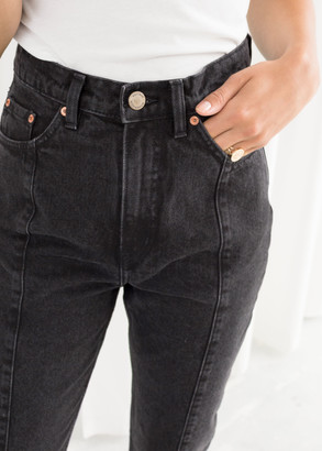And other stories Tapered High Rise Jeans