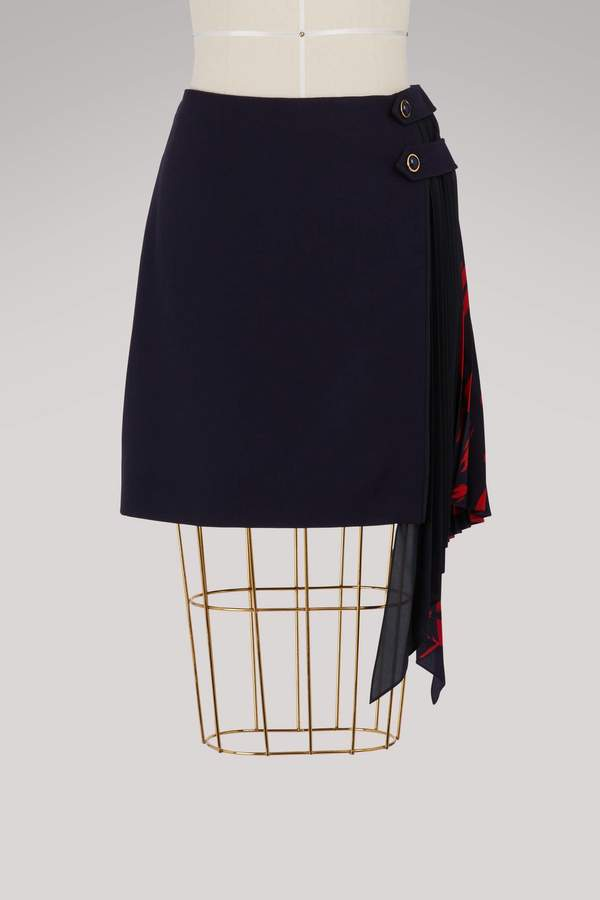 Givenchy Tiger mini skirt