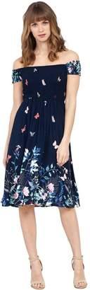 M&Co Izabel floral bardot dress