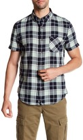 Timberland Sugar River Plaid Short Sleeve Slim Fit Shirt