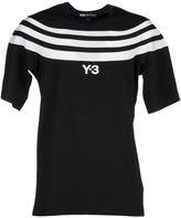 Y-3 Adidas '3-stripes' T-shirt