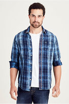 True Religion Single Pocket Mens Woven Shirt