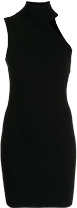 Alice + Olivia Cut-Out Detail Sleeveless Dress