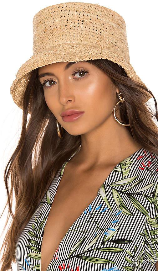 f392aa0dfc119 Janessa Leone Straw Hat - ShopStyle