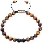 Steve Madden Men's Tiger's Eye Bead Bracelet