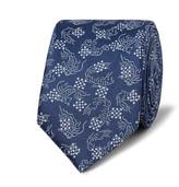 Lanvin 5.5cm Koi-Print Silk-Satin Tie