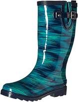 Chooka Women's Electric Ikat Rain Boot