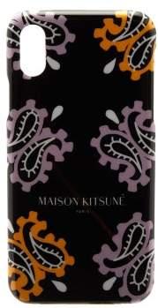 MAISON KITSUNÉ Paisley-print Iphone X Case - Mens - Multi