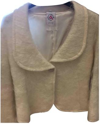 Cycle Ecru Wool Jacket for Women