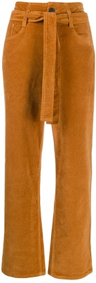 3x1 Kelly belted high-waist jeans