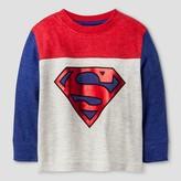 Superman Baby Boys' Long Sleeve T-Shirt - Ecru