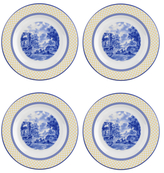 Spode Giallo Salad Plates (Set of 4)