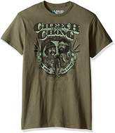 Liquid Blue Men's Cheech and Chong in Weed We Trust Short Sleeve T-Shirt