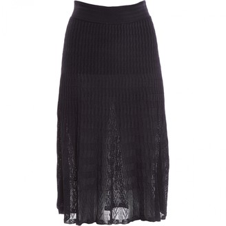Alaia Navy Skirt for Women