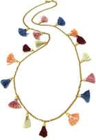 Ben-Amun Venetian Breeze Long Tassel Necklace