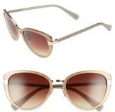 Oscar de la Renta '219' 55mm Cat Eye Sunglasses