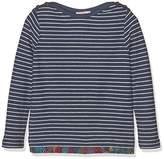 Fat Face Girl's Bretton Stripe Long Sleeve Top,4-5 Years
