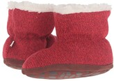 Ragg Acorn Kids Easy Bootie Infant/Toddler) (Red Wool) Girls Shoes