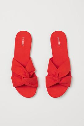 H&M Slides - Orange