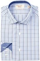 Original Penguin Check Slim Fit Dress Shirt