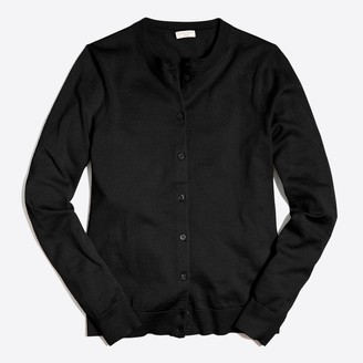 J.Crew Classic cotton cardigan sweater