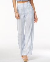 The Edit By Seventeen Juniors' Striped Soft Pants, Only at Macy's