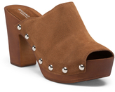 Made In Italy Clog Suede Mules