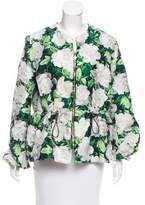 Moncler Gamme Rouge Floral Jacquard Jacket w/ Tags