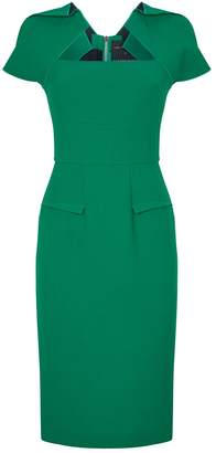 Roland Mouret Wool Pencil Dress